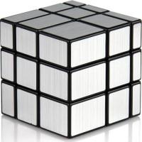 Promo Rubik Mirror 3X3 Silver Yongjun Magic Cube 3X3X3