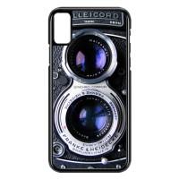 Hardcase Hp iPhone X or XS Twin Reflex Camera Y1901
