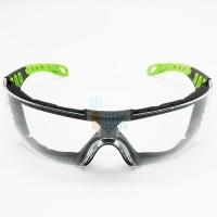 Kacamata Safety (Bisa dipasangkan strap pada frame) ANSI Z87.1