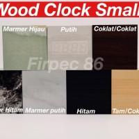 JAM WEKER KAYU DIGITAL / LED WOOD CLOCK SMALL