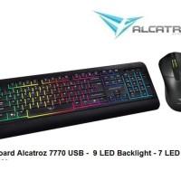 Keyboard Alcatroz Xplorer 7770 lfx + Mouse USB Combo