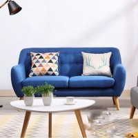 Sofa Retro 2 Seater Free Meja