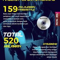 Buku Gitar Belajar Sendiri Fingerstyle & Strumming