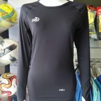 Baju Olahraga Wanita Muslim AMARA BASELAYER WOMAN SPECS BLACK