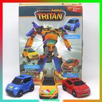 mainan robot transfomer - mini tritan