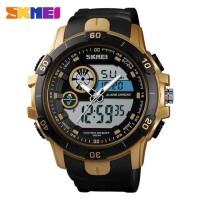 Dijual Jam Tangan Pria Sport Dual Time Original SKMEI 1428 Ant Murah