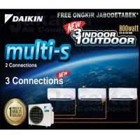 AC Daikin Multi S 3 Koneksi 1/2 PK + 1/2 PK + 3/4 PK