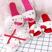 sandal bulu kamar hello kitty