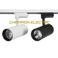 Lampu Spot Light Rel COB 20W 20Watt 20 W Watt Track Sorot hitam putih