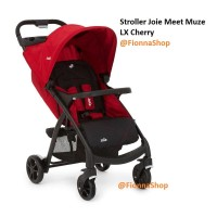 Stroller Kereta bayi Joie Meet Muze LX Cherry