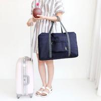 Tas travel besar lipat hand carry anti air Travel fold bag waterproof