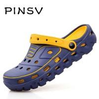 Sepatu Pinsv Pria Bakiak Kasual Musim Panas Pria Keledai Bakiak