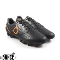 Sepatu Bola OrtusEight Genesis FG Black Original