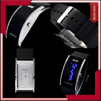 """New"""" SKMEI LED Watch 0805 Original Water Resistant White"""