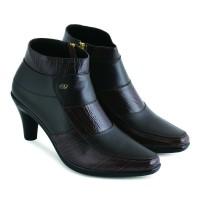 Sepatu Boots Wanita Trendy Jk Collection Kulit Ori JAK 5304