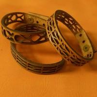 Gelang Kulit Asli unik Leather Bracelet Aksesoris Gelang Pria Wanita