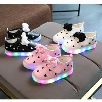 sepatu led anak bayi nomor besar 26 27 28 30