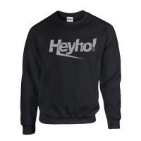 Sweater Hoodie Distro Logo Heyho Grey Premium