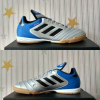 Sepatu futsal adidas copa tango 18.3 core black white CP9017 original