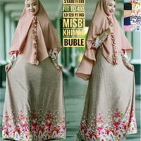Gamis Syari Fitri 3 (Gamis + Hijab) Big Size
