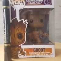 mainan action figure funko pop 49 groot guardian of the galaxy recast