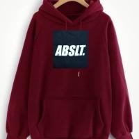 Jaket Sweater Hoodie/Fleece/ABSLT/Pria Terlaris
