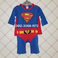 Baju Kostum Jumper Superhero Bayi BABY BOY BABY GIRL Import