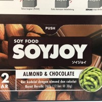 Soyjoy banana/ raisin/ choco Almond | snack sehat / biskuit sehat 30gr