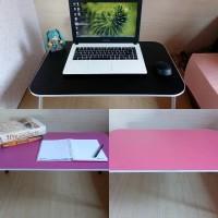 meja lipat versi dewasa (polos warna)