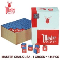 Paling Murah Master Chalk Usa - 144 Piece (1 Gross) Kapur Billiard