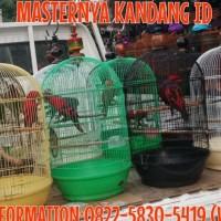 New Kandang/Sangkar Besi Burung Jumbo Dayang U/ Beo/Kakaktua/Owl &