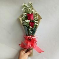 buket bunga wisuda bunga mawar asli bouquet florist fresh flower