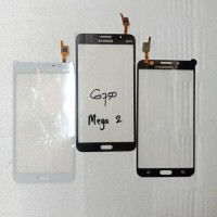 Layar Depan Kaca LCD Touchscren TS Samsung Galaxy Mega 2 G750