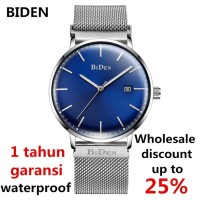 jam tangan Biden pria wanita bisnis sport fashion simple waterproof