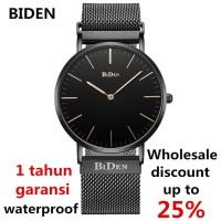 jam tangan Biden pria wanita fashion elegant bisnia sport quartz Per