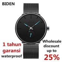 jam tangan Biden pria wanita fashion sport waterproof bisnis tonton