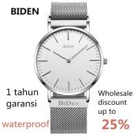 jam tangan Biden pria wanita fashion elegant sport quartz bisnis Per