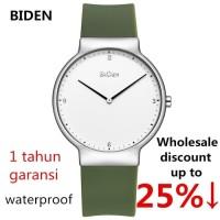 jam tangan wanita Biden Perempuan analog Bisnis Kenyamanan sport Hij