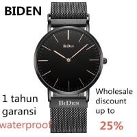 jam tangan Biden pria wanita fashion elegant bisnis sport quartz Hit