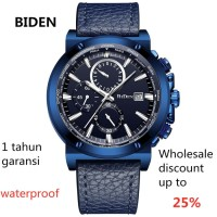 jam tangan BIDEN pria wanita fashion bisnismesh band jam tangan sport