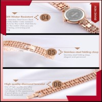 "New"" Jam Tangan Wanita Original SKMEI 1224 Anti Air 30M Rose Gold"