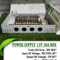 POWER SUPPLY 30A BOX POWER SUPLY CCTV