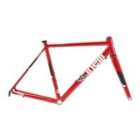 Cinelli Experience Aluminium Roadbike Frameset - Red Light