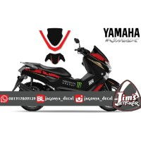 DECAL STICKER MOTOR YAMAHA NMAX MOSTER ENERGY