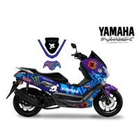 DECAL STICKER MOTOR YAMAHA NMAX HOOLIGAN