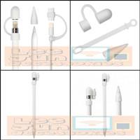 Apple Pencil Cap/Nib/Cable Connector Silicone Cover/Case / Pelindung