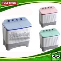 Mesin Cuci 2 Tabung Polytron 7.5KG PWM 7366 Cuci dan Kering