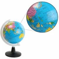 Globe Mini Atlas Peta Bola Dunia Alat Edukasi Anak Laki-Laki Perempuan