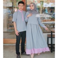 New Marino Couple - Gamis Sarimbit - Dress Pasangan - Kemeja Keren