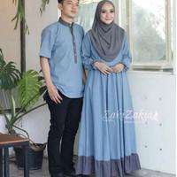ZAKIA COUPLE - Gamis Kekinian - Baju Pasangan Murah - Sarimbit